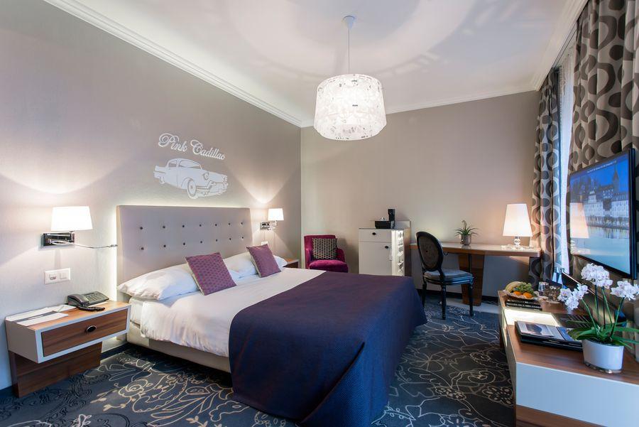Style Doppelzimmer im Hotel Schweizerhof Luzern am See