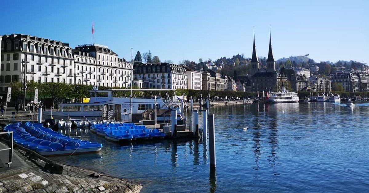 Das 5SterneHotel Schweizerhof Luzern