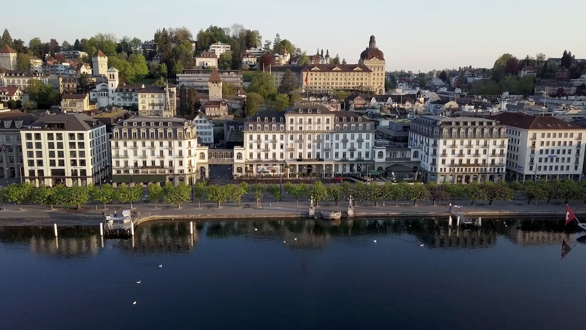 Das 5 Sterne Hotel Schweizerhof Luzern